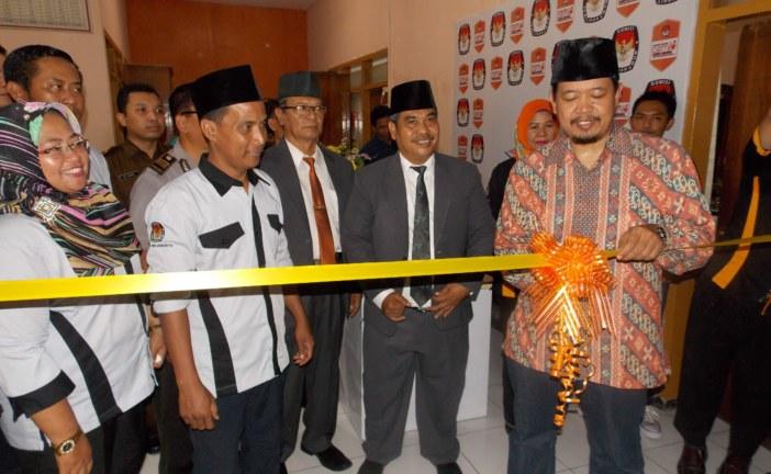 """Untuk Memfasilitasi Pendidikan Pemilih, KPU Kota Mojokerto Resmikan Rumah Pintar Pemilu """"Naditira Wilwatikta"""""""