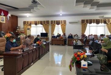 DPRD Kota Mojokerto Bersama KPU Kota Mojokerto Bahas Dana Cadangan Pemilihan Tahun 2024 Dalam Rapat Dengar Pendapat