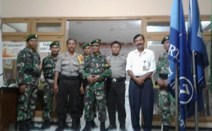 Giliran Kodim 082 Mojokerto Kunjungi KPU Kota Mojokerto
