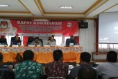 Ketua KPU Provinsi Jatim : Harapan Kita Ini Koordinasi yang Terakhir Terkait DAPIL