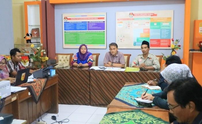 Rapat Internal Persiapkan Rekapitulasi Tingkat Kota/Kabupaten