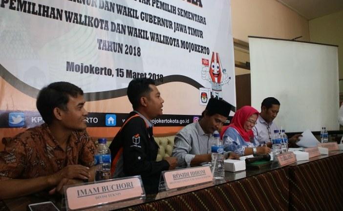 KPU Kota Mojokerto Gelar Rapat Pleno Terbuka Guna Penetapan DPS Pilwali Mojokerto Tahun 2018