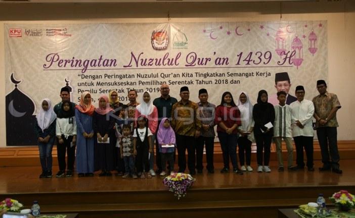 Isi Nuzulul Quran, KPU Santuni Anak Yatim
