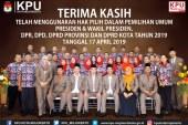 Terima Kasih Telah Menggunakan Hak Pilih Dalam Pemilihan Umum Tahun 2019