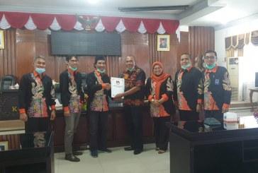 KPU Audiensi Dengan DPRD Kota Mojokerto, Bahas Hibah Pemilihan Kota Mojokerto Tahun 2024