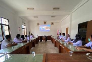 KPU Kota Mojokerto Ikuti Pengukuhan Dan Pengambilan Sumpah Tim Pemeriksa Daerah (TPD) Unsur KPU Provinsi/KIP Aceh Lewat Live Streaming YouTube