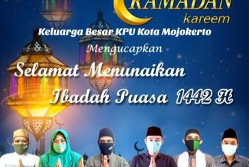 KPU Kota Mojokerto Ucapkan Marhaban Ya Ramadhan 1442 H