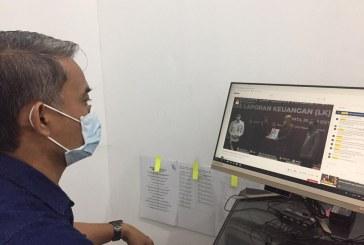 Divisi Hukum dan Pengawasan KPU Kota Mojokerto Ikuti Penyerahan LHP BPK RI atas LK KPU RI Tahun 2020 Melalui Channel Youtube KPU RI
