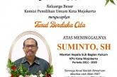 KPU Kota Mojokerto Berduka Atas Berpulangnya Bapak Suminto, SH (Mantan Kasubag Hukum)