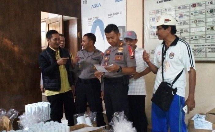 Kapolres Kunjungi KPU Kota Mojokerto Perihal Kesiapan Logistik