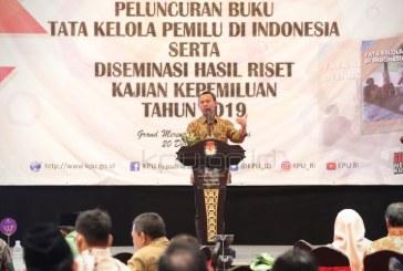 Luncurkan Buku TKP Indonesia, Upaya KPU Berikan Legacy untuk Publik