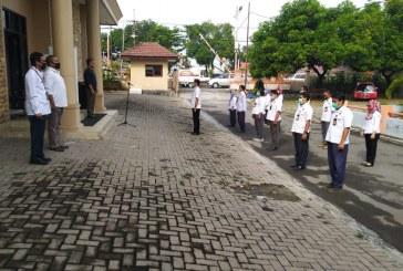 Jajaran KPU Kota Mojokerto Laksanakan Apel Di Akhir Tahun 2020