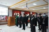 Pelantikan Pejabat Eselon III dan IV Sekretariat KPU Kota Mojokerto